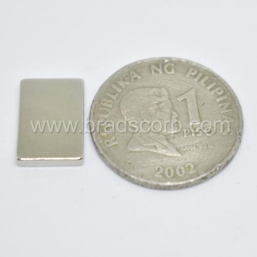 NdFeB 15mm L * 10mm W * 2mm H N35