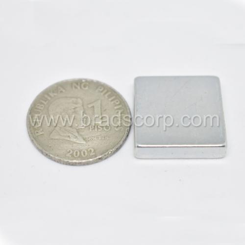 NdFeB 20mm L * 20mm W * 5mm H