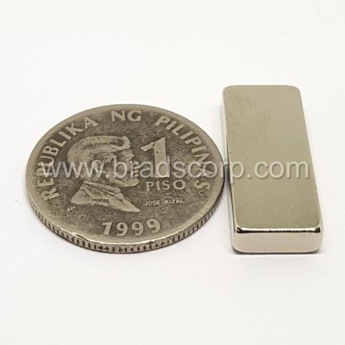 NdFeB 25mm L * 10mm W * 4mm H