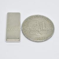 NdFeB 25mm L * 10mm W * 3mm H N48
