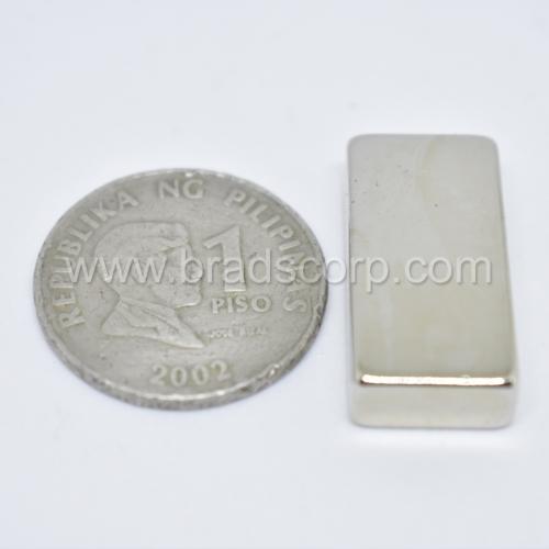 NdFeB 25.4mm L * 12.7mm * 6.35mm H