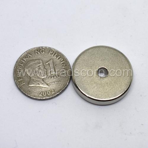 NdFeB 25mm OD * 4mm ID * 5mm H