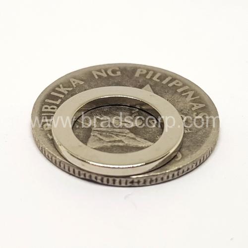 NdFeB 16mm OD * 11mm ID * 1.5mm H